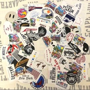 Brandy Melville Stickers (100 pieces)